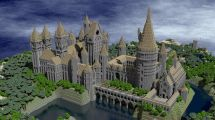 Minecraft Hogwarts Castle