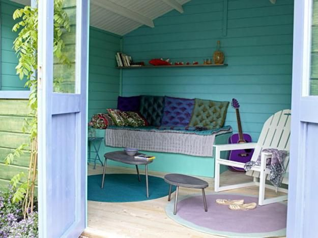 Small Garden House Design And Interior Decorating Ideas For