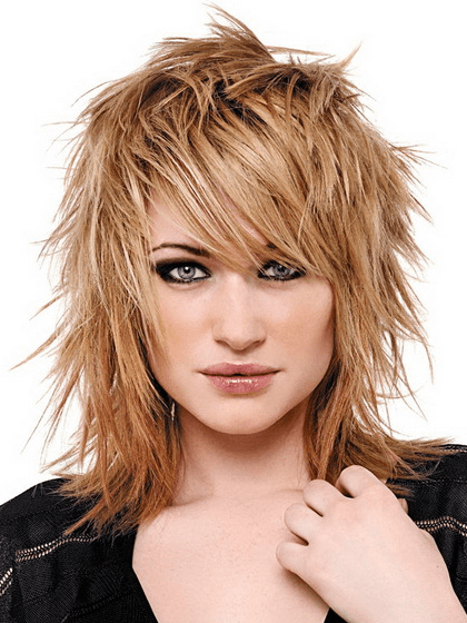 Layered Hairstyles For Medium Length Hair Photo Of Medium Length