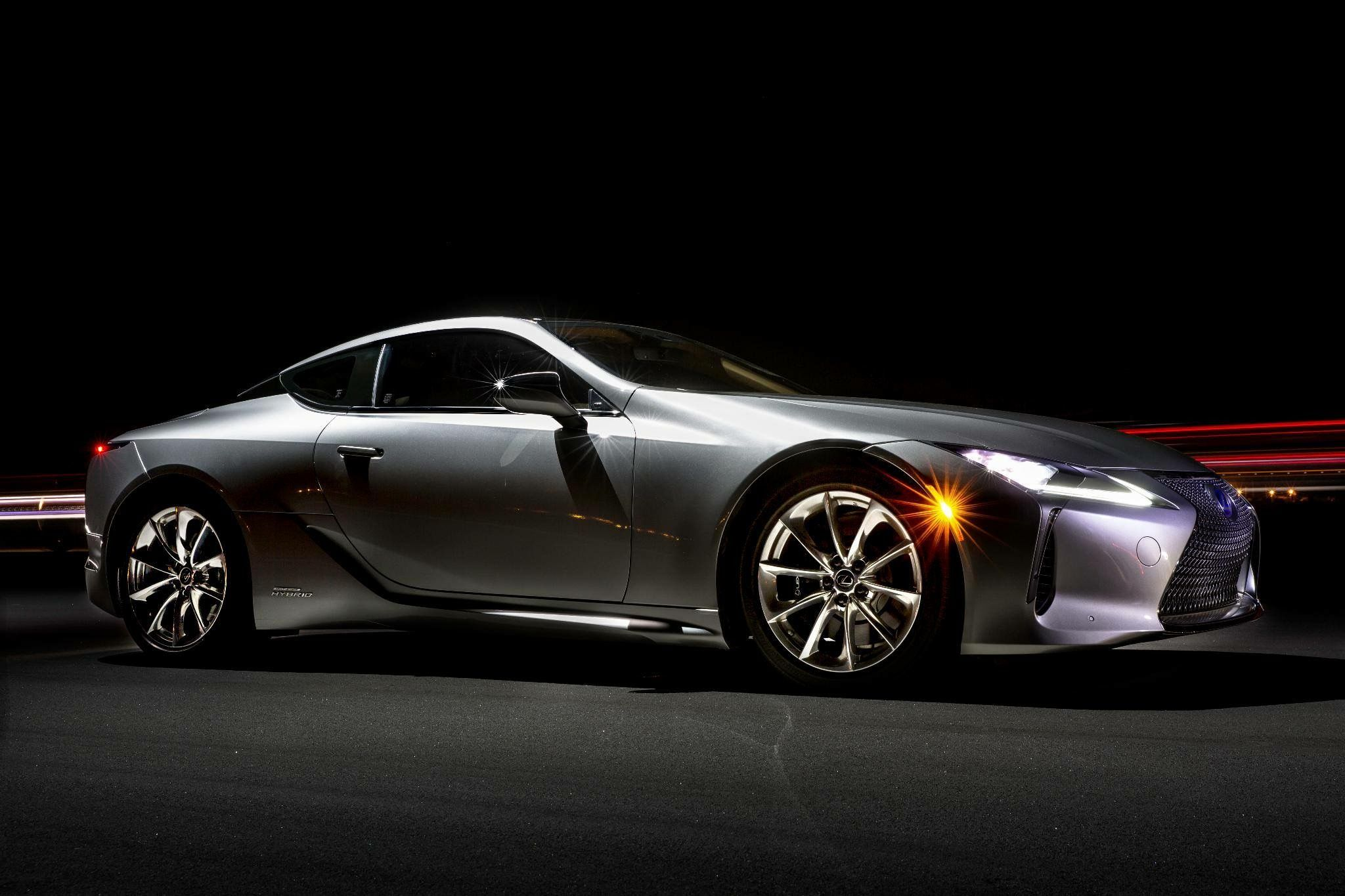 The Lexus LC 500H hybrids have never looked this good Lexus