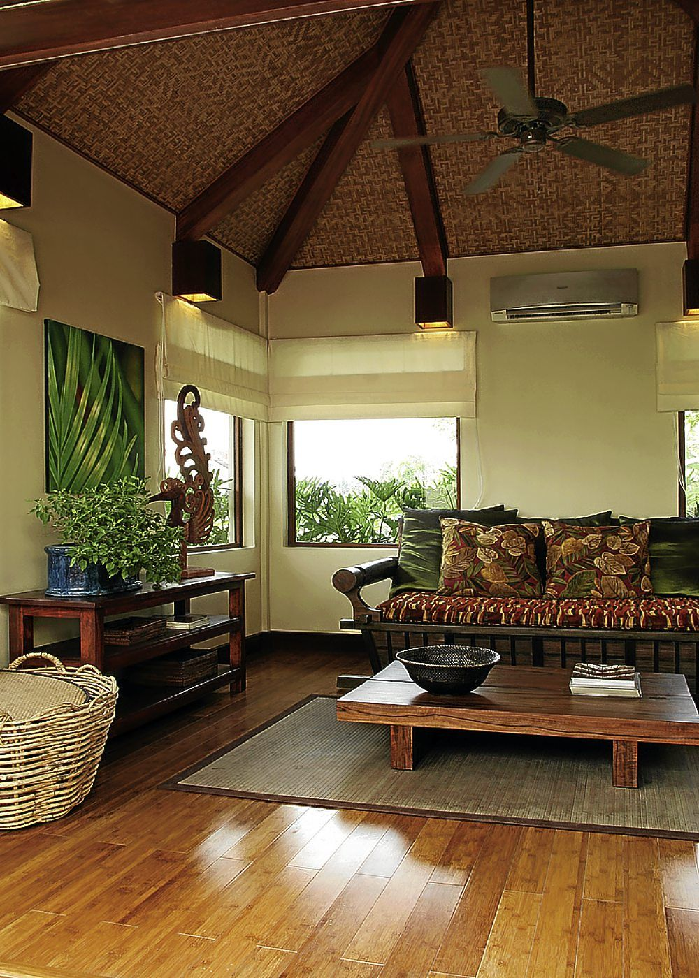 Modern nipa hut design interior