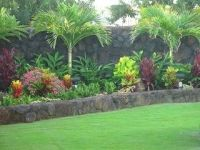 tropical landscape island for front yard | Bedroom Estate ...