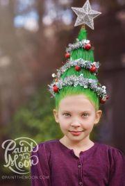 christmas tree hairstyle fade