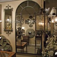 Uttermost // Grande Arch Paneled Wall Floor Mirror   Home ...
