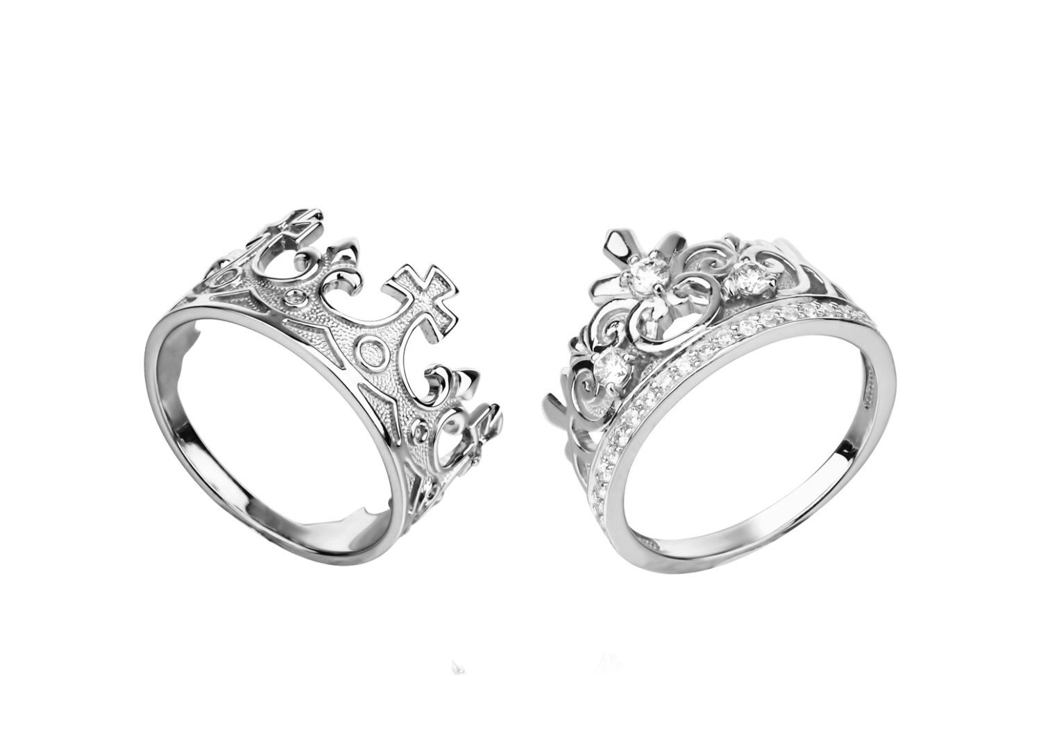 couple ring set rings for couples his and her matching