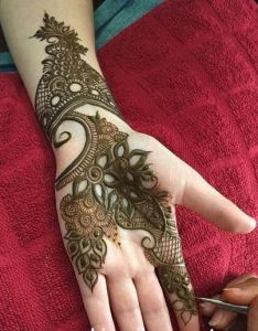 Special mehndi designs collection for girls also henna nails hand  pinterest rh