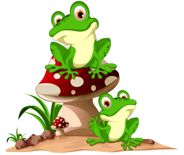 Frog Clip Art Frogs And Cross Stitch