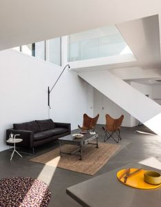 Sunflower house comprises ten cubes pointed in different directions also rh pinterest