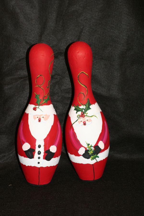 Bowling Pin Santas Costume Ideas