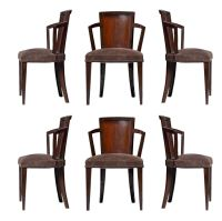 Pair of Fine French Art Deco Chairs by Pierre Chareau ...