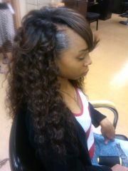 brazilian curly weave flair