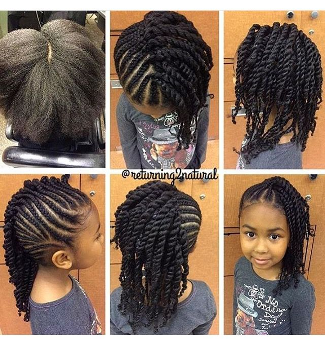Hairstyles For Little Black Girls Natural Hair Style Braids