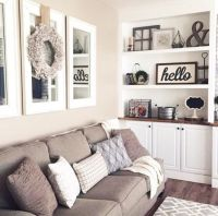 10 Gorgeous Neutral Living Rooms | Room decor, Wreaths and ...