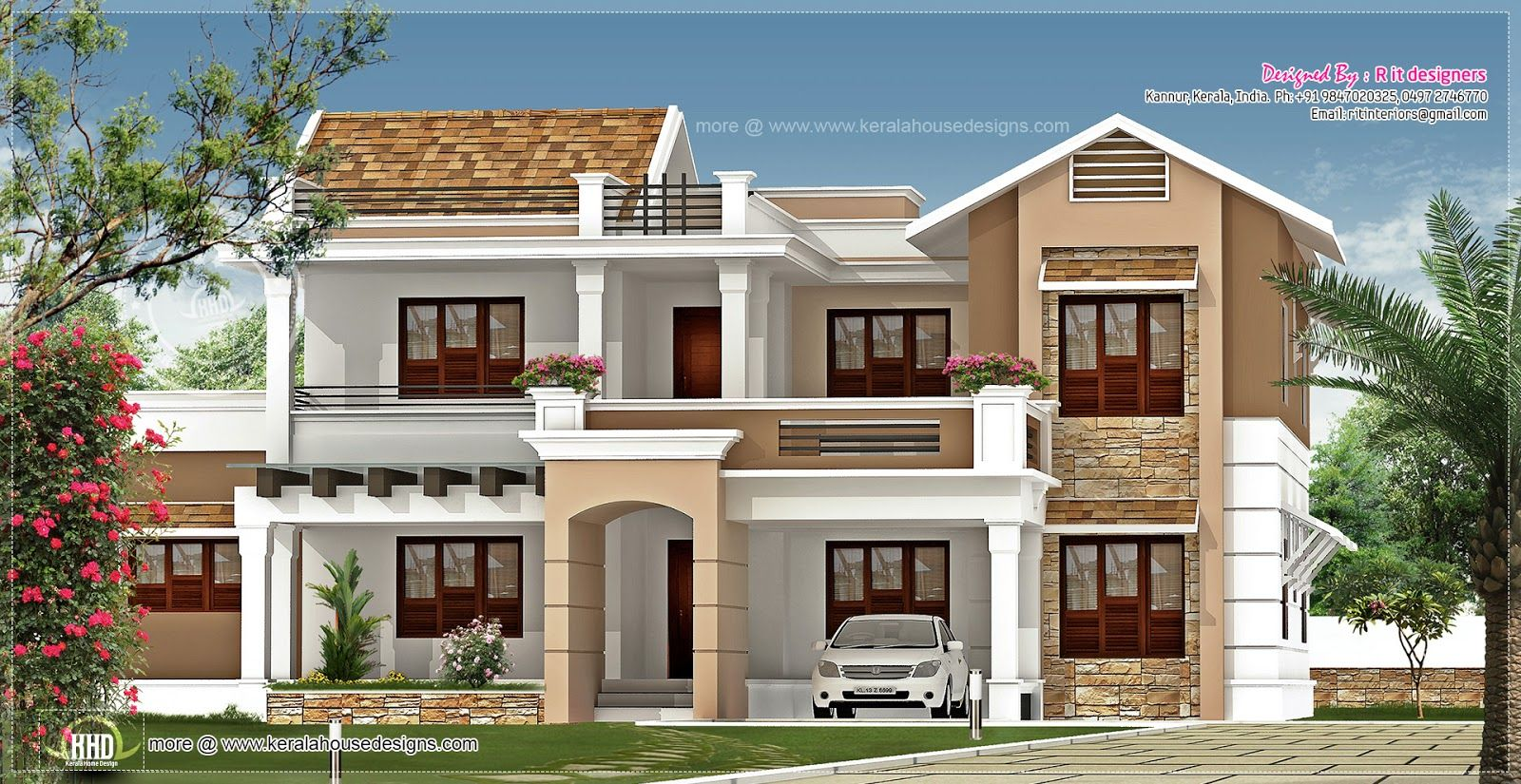 800 Square Foot House Exterior Design 347 Square Yards Designed