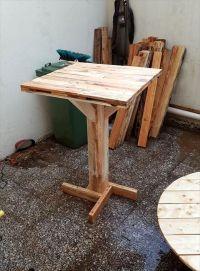 diy pallet bar table | pallette | Pinterest | Easy diy ...