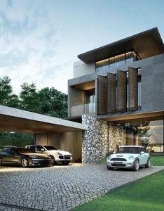 Modern architecture small house designmodern also casas pinterest rh