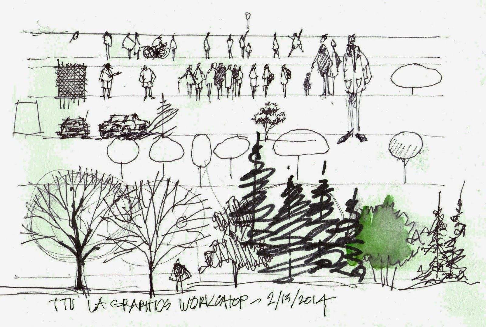landscape architecture drawing techniques color  Google