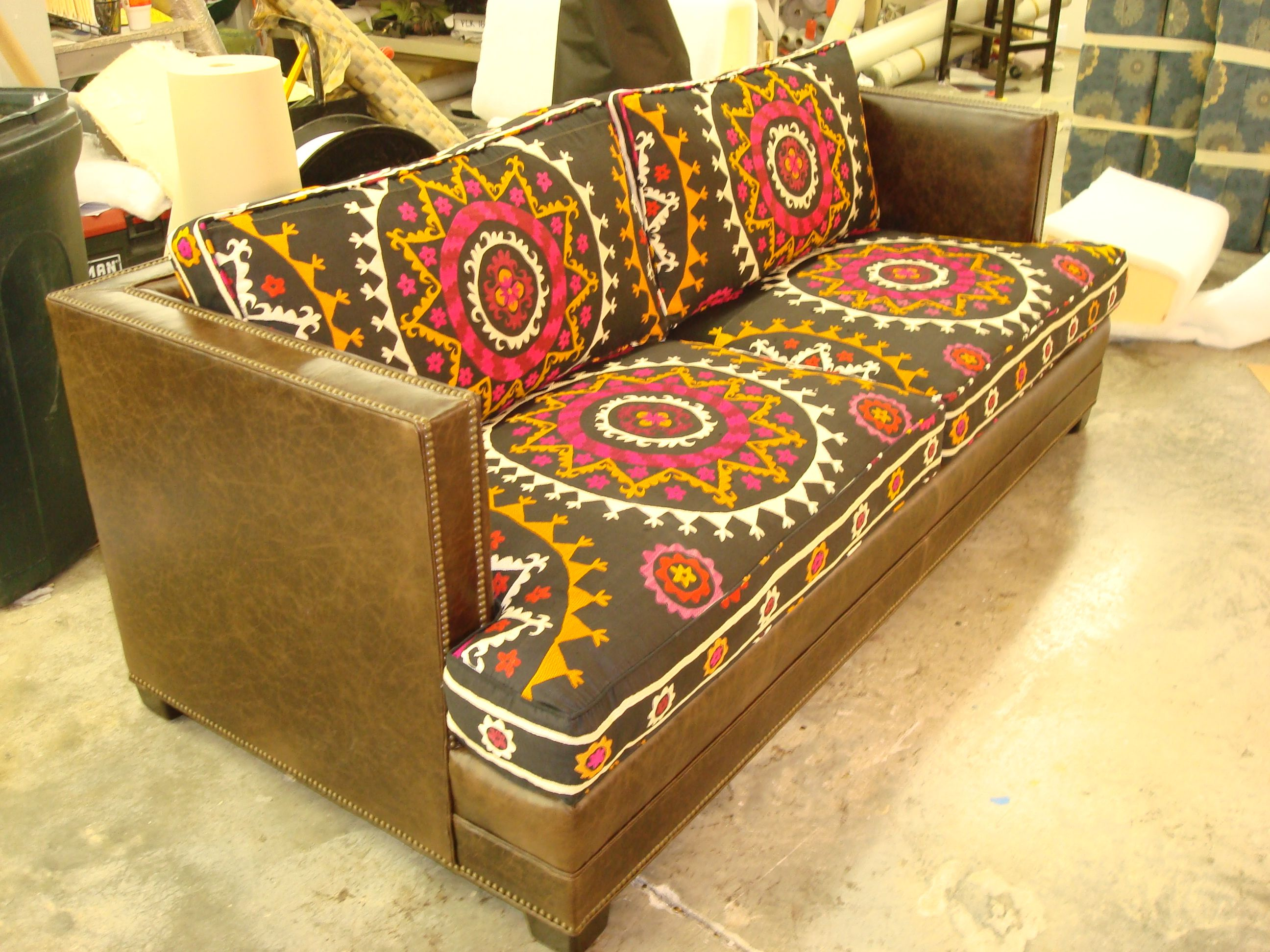 recover sofa cushions leather and fabric dfs upholstery awesome foam couch or