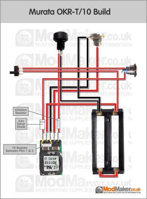 Murata OKRT10 Wiring Diagram | BOX MOD schematy DIY