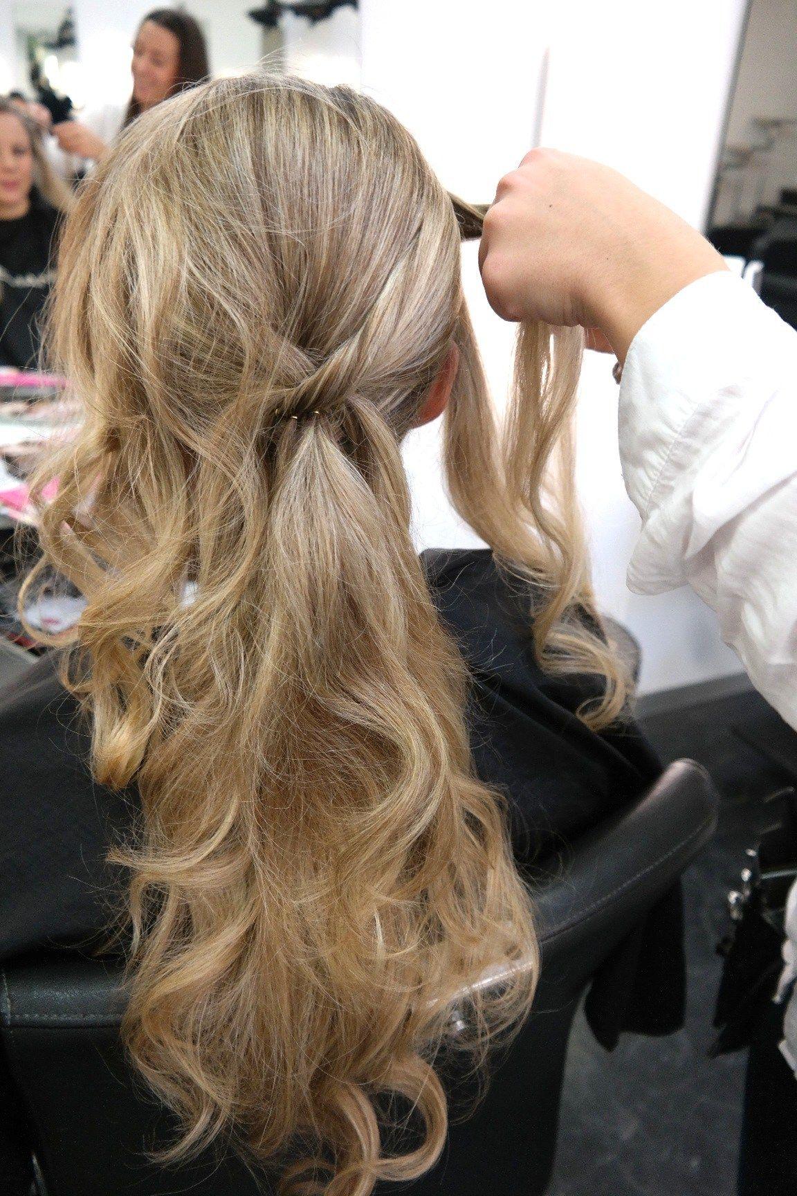 Frisch Frisuren Halboffen Glatte Haare  Finden Sie die beste Frisur Inspiration hier