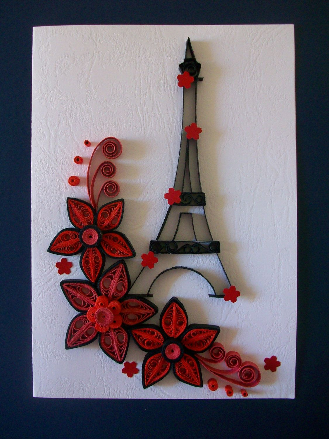 Quilling Card Handmade Quilling Greeting Card Birthday