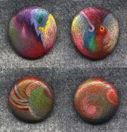 colored pencil rocks