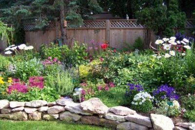 Flower Garden Designs Easy Flower Garden Design Home Design Ideas