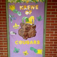 Mardi Gras door decoration | Classroom Ideas | Pinterest ...