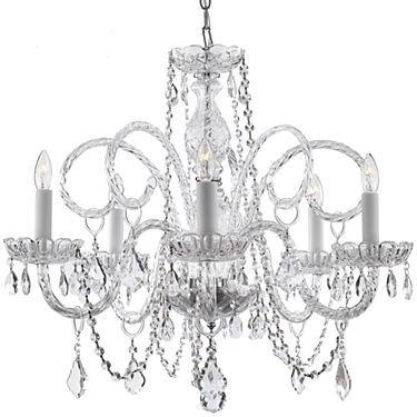 Lights Murano Venetian Crystal Chandelier Jcpenney