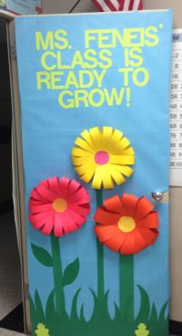 Classroom door decoration! I like how they made the ...