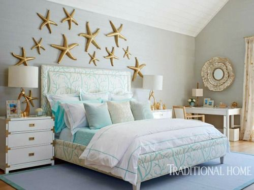 Above the bed wall decor ideas with  coastal beach theme also rh pinterest