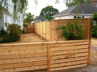 Custom Horizontal Fencing | Gates, Fencing and Walls ...