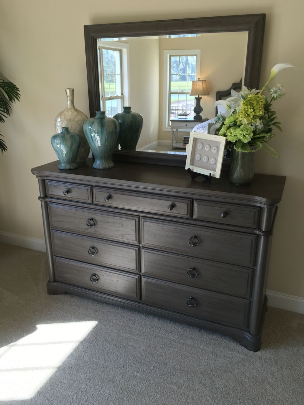 How to stage a dresser  Bedrooms  Pinterest  Dresser Stage and Bedrooms