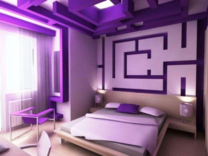 Bedroom Purple Paint Colors For Men Ideas