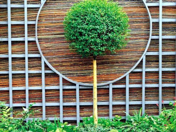Screening Fence Or Garden Wall 102 Ideas For Garden Design