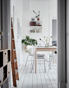 All white home with lots of character via coco lapine design also rh in pinterest