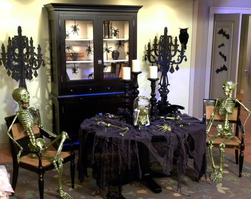 halloween decorating martha stewart halloween tables and - Halloween Decorations Martha Stewart