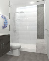 bathroom tile ideas grey and white - Google Search ...