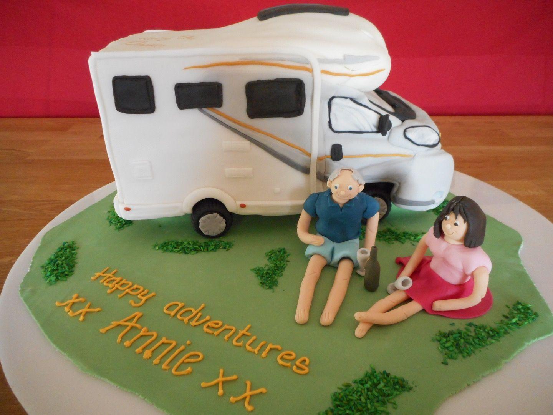 Tribute 715 Motorhome Retirement Cake
