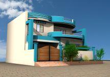 3D Home Design House