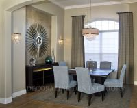 How to Decorate a Recessed Wall Niche in your | Dining ...