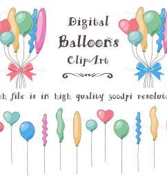 balloons clip art balloons clipart bunches of balloons party balloon birthday balloon [ 1200 x 1067 Pixel ]