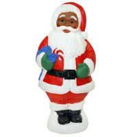 "Christmas Decorations | Christmas Blow Molded 31"" African ..."