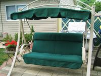 Another Made in USA Costco patio swing replacement canopy ...