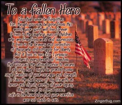 Fallen Soldier Quotes Pleasing Fallen Soldier Quotes Army Kids Picture