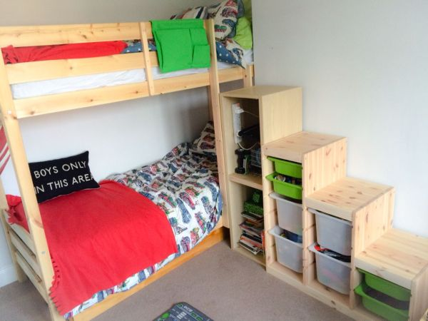 IKEA Bunk Bed with Stairs