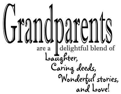 I love my Mawmaw, Pawpaw, Nana, and Grandaddy so much