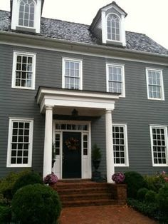Colonial House Siding Ideas Google Search For The Home