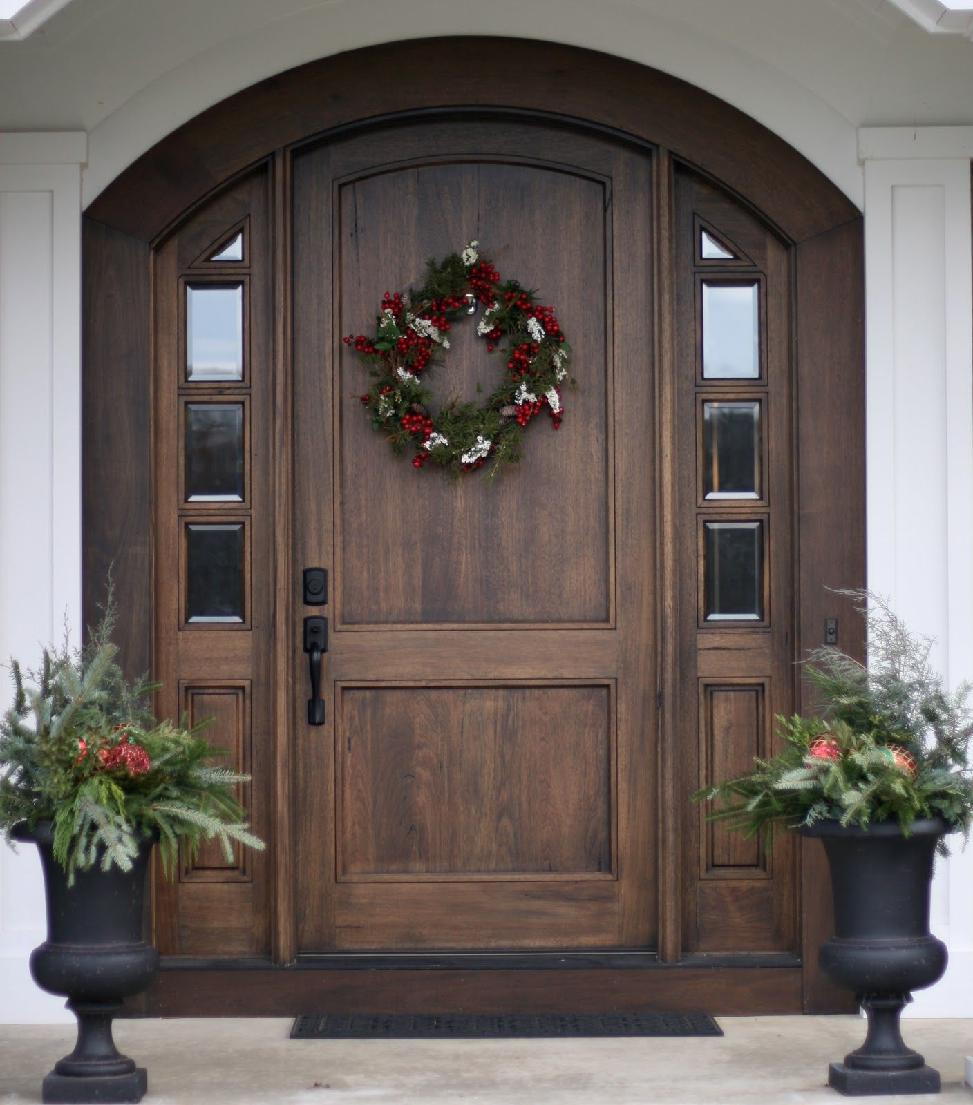 Front door. One day I will have a house that will allow me