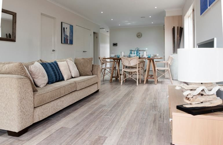 Embelton Bamboo Flooring 'Beach House' Home Is Wherever I'm With